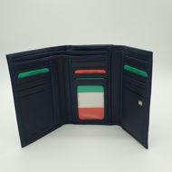 Immagine di Portafoglio trifolder medio colorato con zip