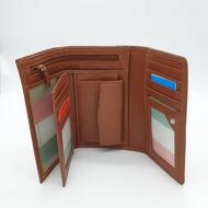 Immagine di Portafoglio trifolder medio colorato